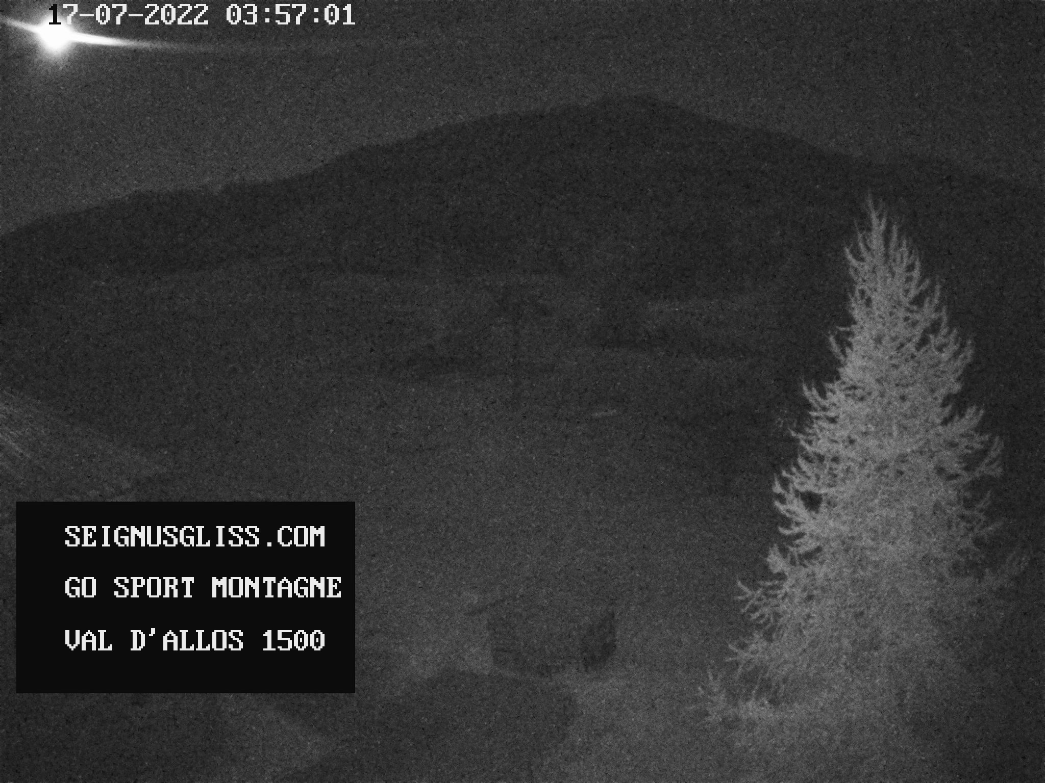 webcam val d'allos le Seignus